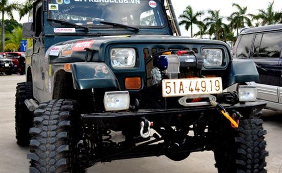Giải đua xe ô tô địa hình Việt Nam 2015 chính thức khởi tranh