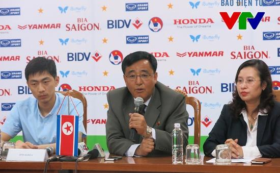HLV ĐT Triều Tiên khẳng định sẽ đá tấn công với ĐT Việt Nam