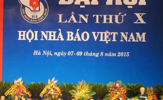 Ra mắt Ban Chấp hành khóa X Hội Nhà báo Việt Nam