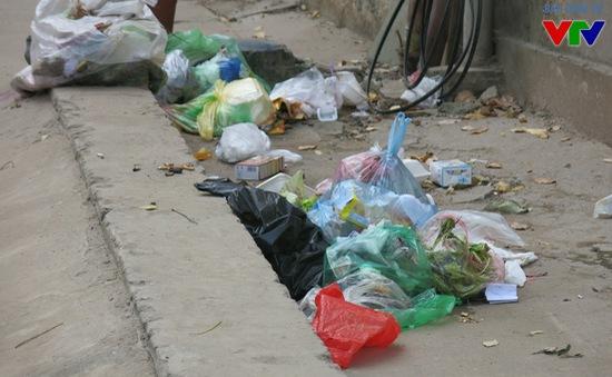 Báo động tình trạng mất vệ sinh tại khu trọ sinh viên
