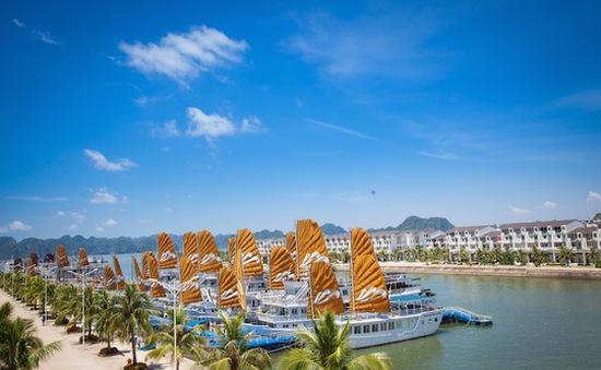 Cảng nhân tạo lớn nhất Việt Nam chính thức đón tàu khách quốc tế