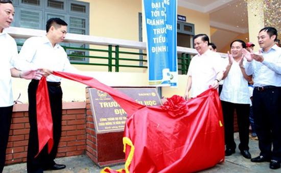 Khánh thành trường chuẩn quốc gia ở An toàn khu Định Hóa