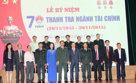 Lễ kỷ niệm 70 năm Thanh tra Tài chính