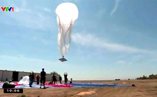 Indonesia phát triển dự án khinh khí cầu Internet