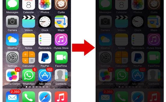 Cách làm dịu màn hình iPhone vào buổi tối