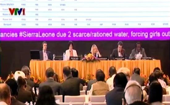 IPU-132: Thảo luận vấn đề quản trị nguồn nước