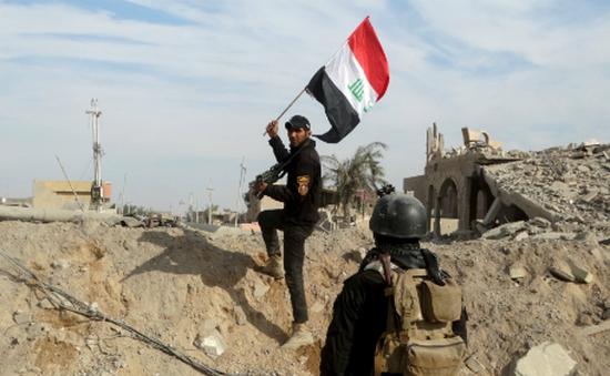 Đánh bật IS, Iraq tổ chức lễ cắm cờ tại Ramadi