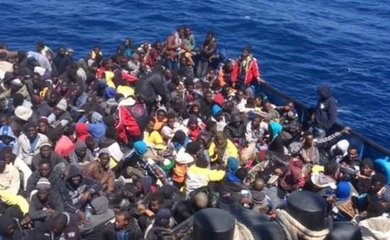 Số lượng người di cư vào châu Âu giảm trong tháng 11
