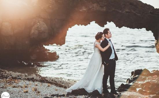 Nở rộ dịch vụ chụp ảnh cưới tại thiên đường Lý Sơn