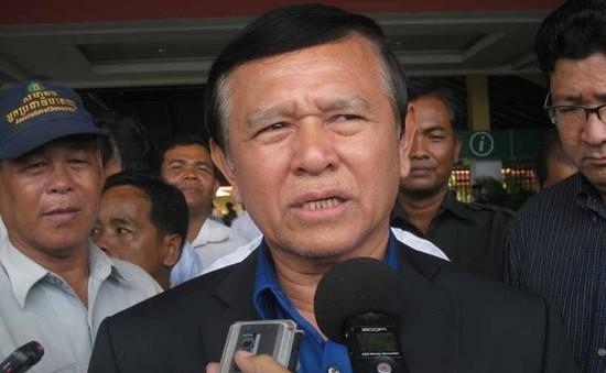 Phó Chủ tịch Đảng Cứu quốc Campuchia ra hầu tòa