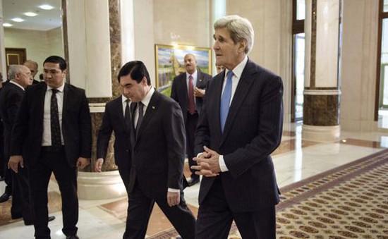 Ngoại trưởng Mỹ đến thăm Turkmenistan