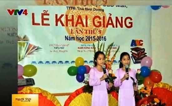 Khai giảng Trường Tiếng Việt Sao Mai tại Đức