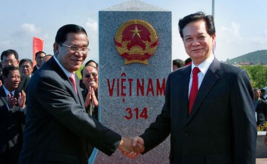 Khánh thành cột mốc số 30 biên giới Việt Nam - Campuchia
