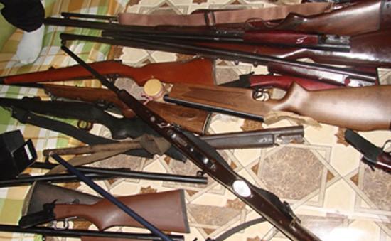 Sơn La: Thu giữ gần 40kg khẩu súng tại Mộc Châu