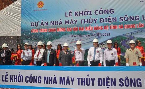 Hà Giang: Khởi công nhà máy thủy điện sông Lô 6