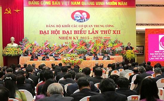 Đại hội Đảng bộ Khối các cơ quan Trung ương