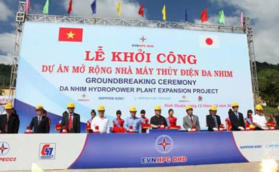 Khởi công mở rộng nhà máy thủy điện Đa Nhim