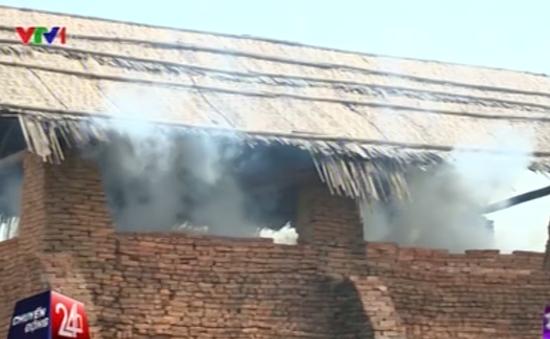 Người dân Vĩnh Phúc khổ sở vì khói lò gạch gây ô nhiễm