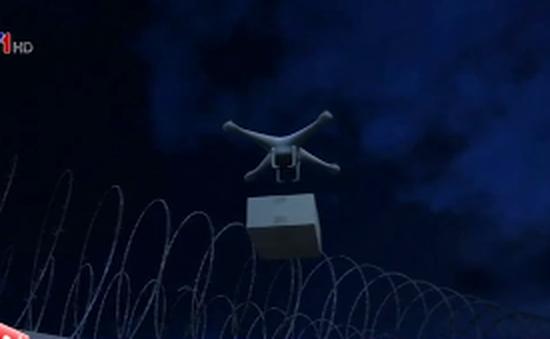 Thiết bị bay không người lái mang ma tuý vào nhà tù Mỹ