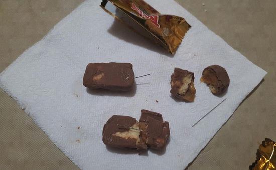 Phát hiện kim trong bánh kẹo tại Mỹ