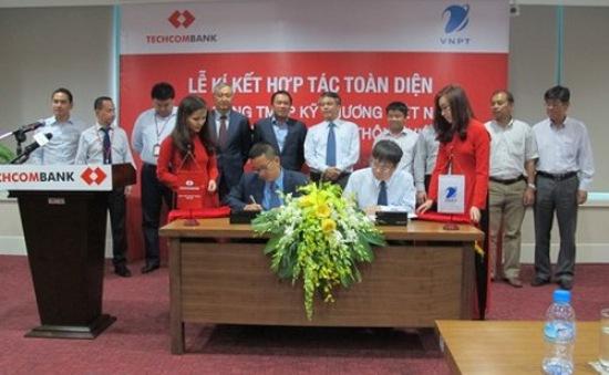Techcombank và VNPT ký thỏa thuận hợp tác toàn diện