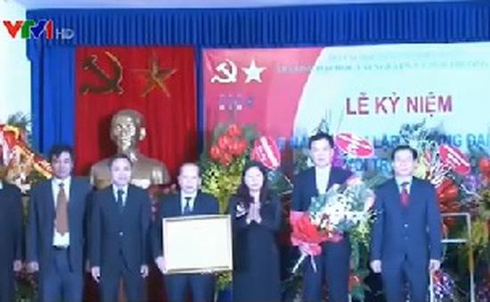 ĐH Tài nguyên và Môi trường Hà Nội đón nhận Huân chương Lao động hạng Nhì