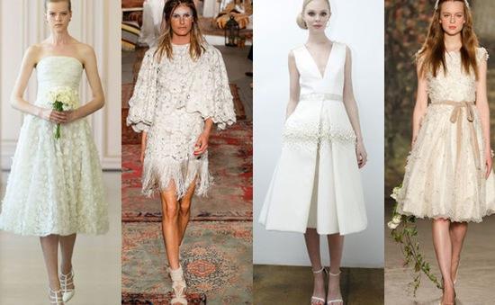"""Những mẫu váy cưới cực """"chất"""" cho mùa hè 2015"""