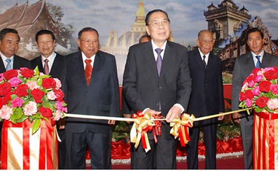 Khai mạc triển lãm ảnh 60 năm Đảng nhân dân cách mạng Lào