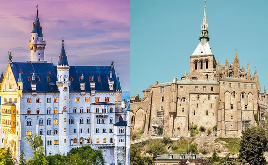 Vẻ đẹp huyền ảo của những lâu đài Disney ngoài đời thực