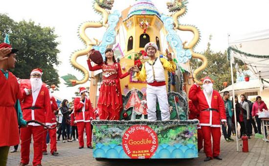 Lễ hội Noel 2015 tràn ngập sắc màu rực rỡ