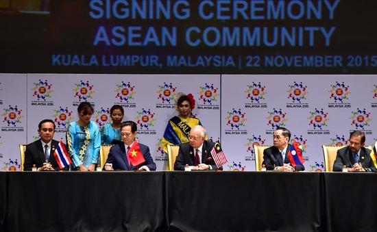 Cộng đồng ASEAN đặt nền móng cho giai đoạn phát triển mới của ASEAN