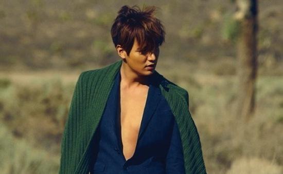 Lee Min Ho đẹp hoang dại trong loạt ảnh mới