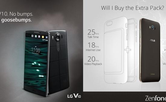 """Asus và LG """"chọc ngoáy"""" ốp sạc mới của iPhone 6S"""