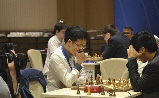 Lê Quang Liêm dừng bước ở vòng 3 World Cup cờ vua 2015