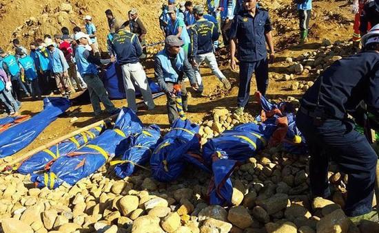 Lở đất tại mỏ ngọc bích Myanmar: Số người thiệt mạng tăng lên 104 người