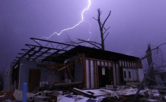 Lốc xoáy tại Texas (Mỹ), 8 người thiệt mạng