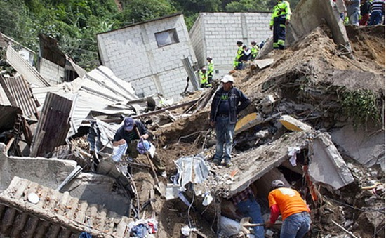 Guatemala: Lở đất nghiêm trọng, 30 người chết
