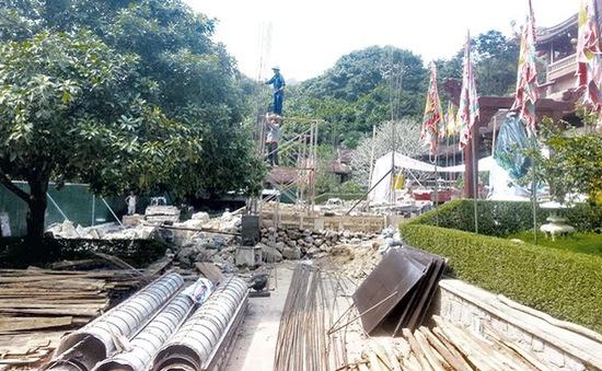 Quảng Ninh: Công ty Tùng Lâm tự ý xây dựng tại Khu di tích Yên Tử