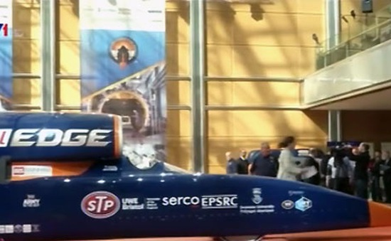 Bloodhound – siêu xe chạy nhanh nhất thế giới