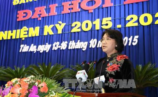 Kết quả Đảng bộ Long An đạt được trong nhiệm kỳ qua khá toàn diện