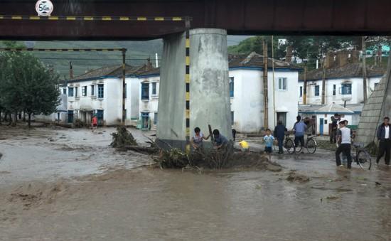 Lũ lụt tại Triều Tiên, 40 người thiệt mạng