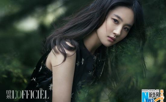 Lưu Diệc Phi đẹp mơ màng trên tạp chí