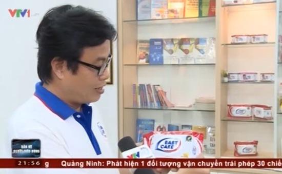Doanh nghiệp sản xuất khăn giấy ướt đau đầu vì bị nhái