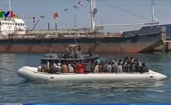 Lybia giải cứu 150 người di cư vượt biển sang châu Âu