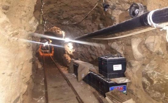 Mexico phát hiện đường ngầm vận chuyển ma túy