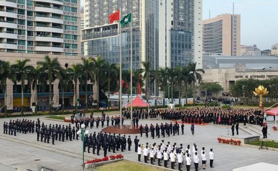 Macau mở rộng phạm vi hành chính trên đất liền và trên biển