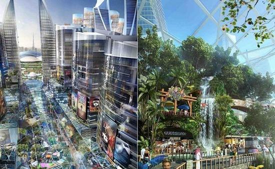 """Dubai xây """"thành phố lạnh"""" giữa sa mạc"""