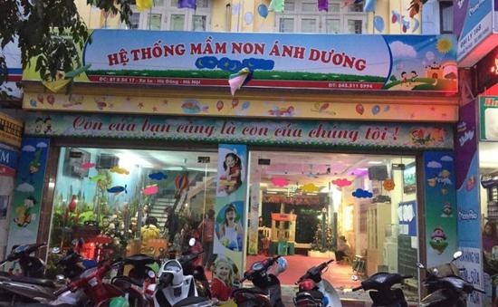 Hà Nội: Tạm đình chỉ cô giáo mầm non đánh trẻ tại quận Hà Đông