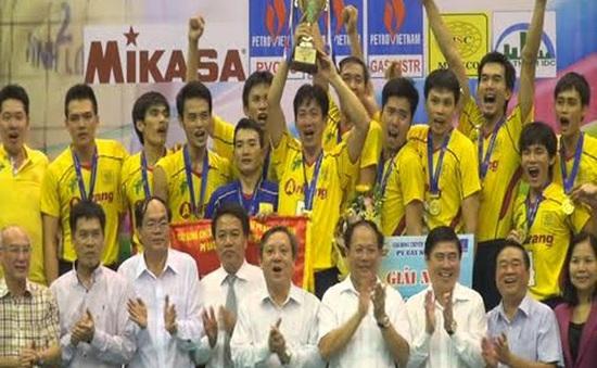 Maseco TP.Hồ Chí Minh vô địch Giải bóng chuyền Quốc gia 2015