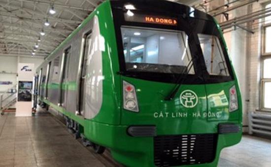 Ngày 29/10, trưng bày mẫu tàu đường sắt Cát Linh - Hà Đông